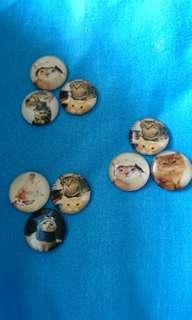 Cute Cats Mini Magnets