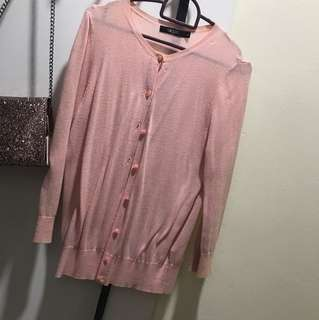 G2000 Baby Pink Cardigan