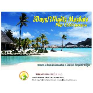 3D2N Masbate Package