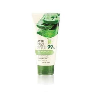 Preloved TheFaceShop Aloe Vera Soothing Gel