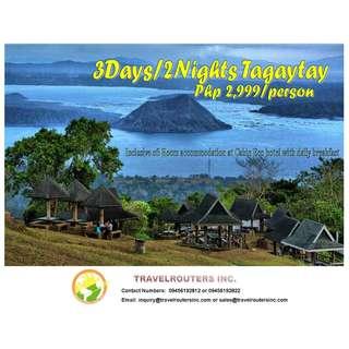 3D2N Tagaytay