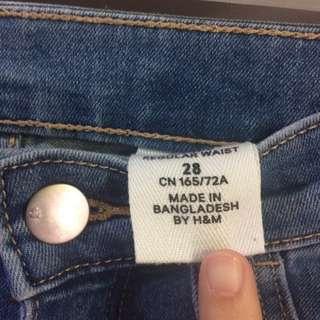 Original H&M hw jeggings (no front pockets)