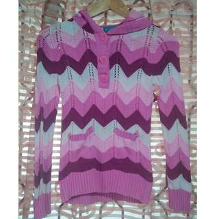 Children's Place Knitted Sweater - Pink L
