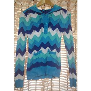 The Children's Place Blue Knitted Sweater - XL