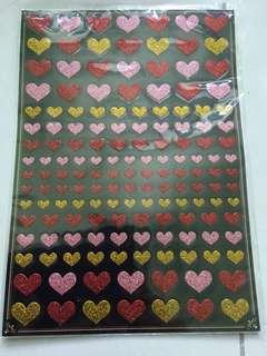 Love shining sticker