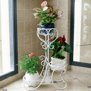 3 Level metal flower plant stand