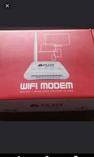 PLDT wireless router