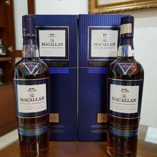 Single Malt - The Macallan Estate Reserve