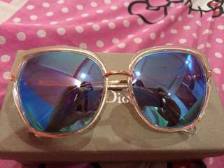 Kacamata miniso warna biru