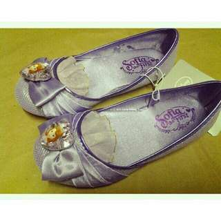 Disney store authentic sofia the first shoes size us 13/1 : 9years