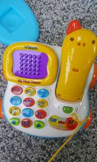 Phone set electronic playset