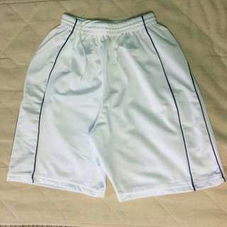 White Jersey Shorts