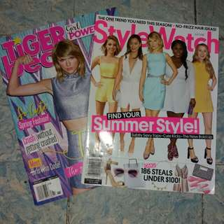 Bundle - Taylor Swift | Tiger Beat and Stylewatch