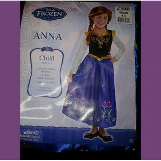 Anna and elsa costumes  authentic for kids