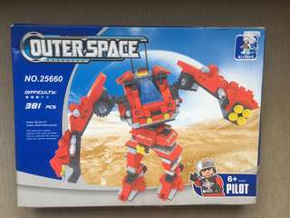 Ausini Outer Space (381 Lego type pcs)