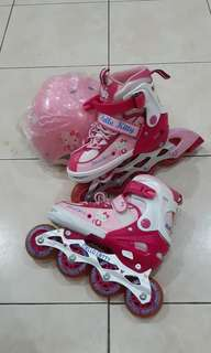 Roller blade hello kitty