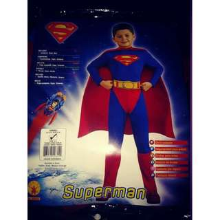 Superman costumes authetic