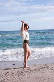 Beach White Cover Up