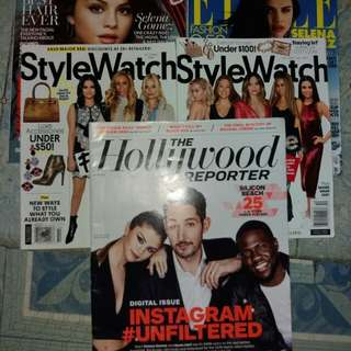 Bundle - Selena Gomez (cover) Magazines