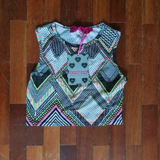 Boohoo Aztec Crop Top