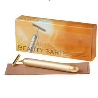 24k Gold  energy Beauty face massager