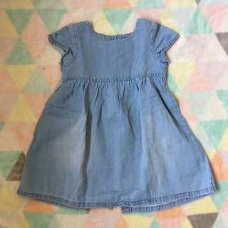 NEXT Light Blue Denim Dress
