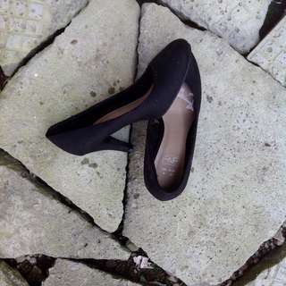 F&F Black Shoes with Heels