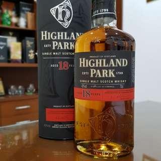 Single Malt - Highland Park 18 Years Old