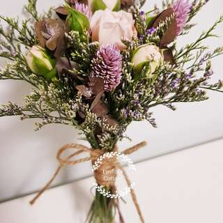 Bridesmaid Bouquet (Wedding / ROM/ /Engagement Bridesmaid / Proposal/ Anniversary)