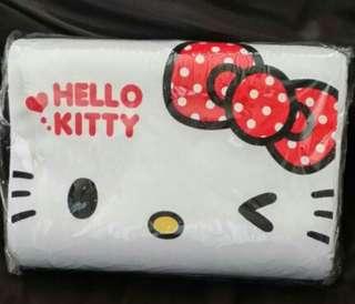 Hello kitty 兒童枕.白