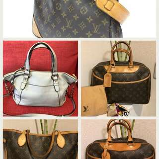 Authentic LV bags and MK