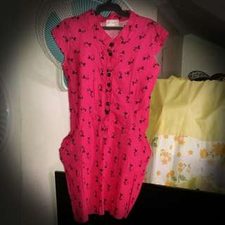 Get Aset One Piece Daep Pink Dress