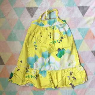 BABY GAP Yellow Oriental Dress