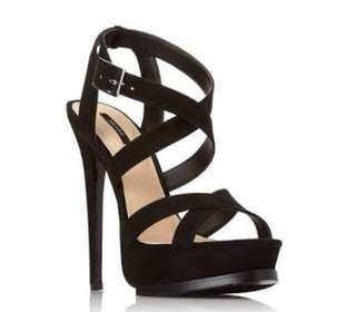 """Forever 21 crossover 5"""" inch high heel sandals"""