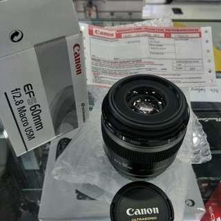 Canon E-FS 60mm Macro lens (NEW)
