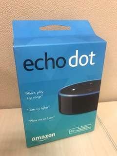 [NEW] Amazon Echo Dot 2nd Generation 無線藍芽喇叭