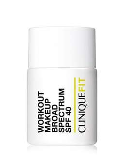 CliniqueFit workout makeup broad spectrum SPF 40