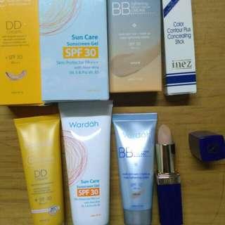 Take all (BB cream, DD cream, Conselear, sun care)