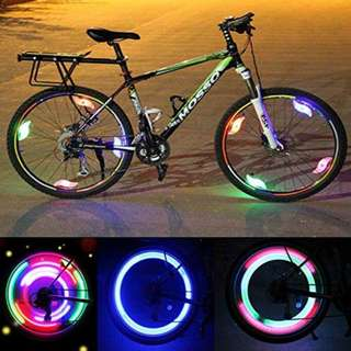 BE SEEN BE SAFE WHEEL LED LIGHT