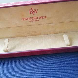 Raymond weil watch box