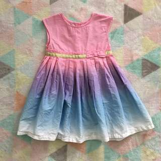 MOTHERCARE Pastel Ombre Dress