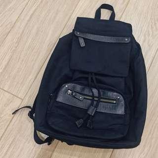 agnesb 防水 束口袋 後背包