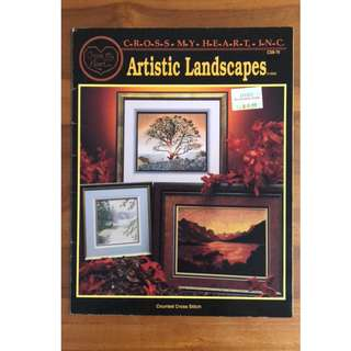 Artistic Landscapes - Cross My Heart Inc - Cross Stitch Pattern/design book