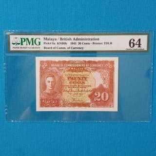 Malaya 20 Cents