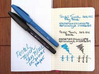 Pentel Fudge Touch Pen