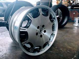 "Imported Japan Used 19"" X 9JJ 10JJ Rim with tyres"