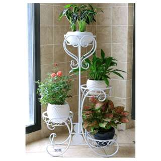 4 Level - Metal flower pot stand / holder