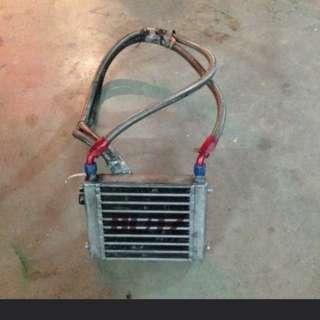 BLITZ Racing Oil Cooler Set