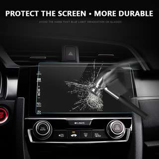 8 Inchs 177x100mm Tempered Glass Screen Protector Protective Film for Car Head Unit