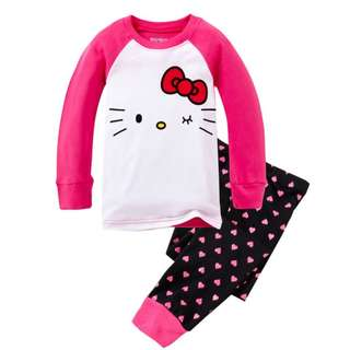 Hello Kitty Long Sleeve PJ